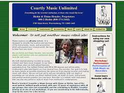 Courtly Music homepage