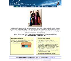 deBlasiis Music Series homepage